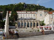 Hvar town loggia