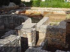 Remains of ancient town Faros