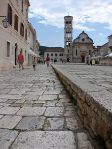 Hvar town main square
