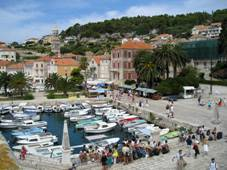 Small port in Hvar town (Mandrac)