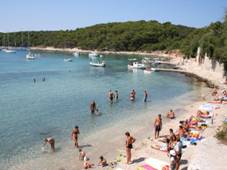 Palmizana beach 