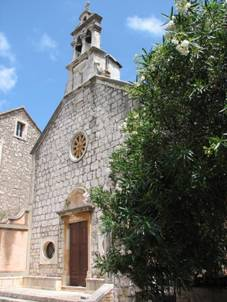 Church of St. Roch in Stari Grad