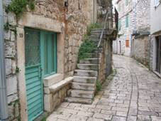 Narrow street in Stari Grad